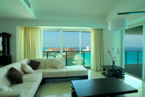 Cancun Condo Rental 4 Bedroom Portofino Unit 1704 Tower 5