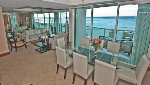 Cancun Condo Rental 3 Bedroom Bay View Grand Unit 201 Tower 4