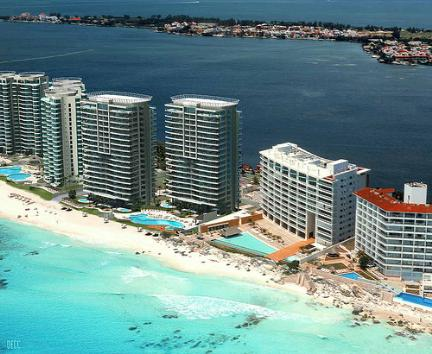 Portofino Bay View grand Cancun Condo Rentals