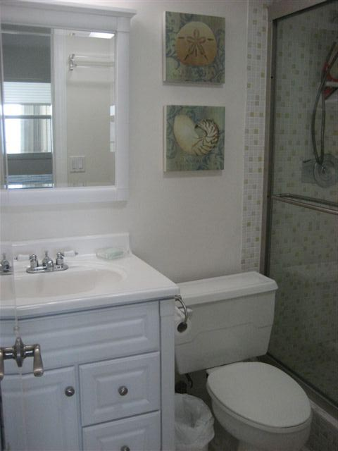 Modern baths recently remodeled