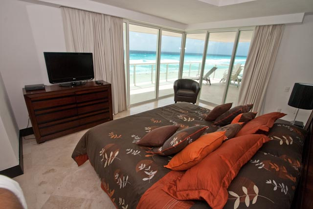Another view of the Ocean Front Master Bedroom