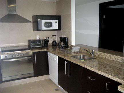 Kitchen is fully equipped, with state of the art appliances, granite counter tops and open to the great room