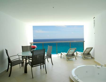 Another view of the extra large ocean view patio which sits on the 11th floor and offers 100% privacy